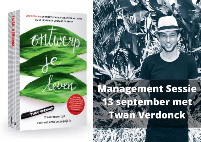 Baandomein Management Sessie 13 september met Twan Verdonck